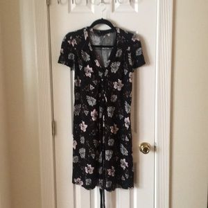French Connection Tied Waist Dress